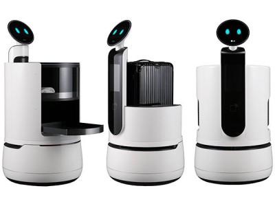 LG запускает пробную версию службы доставки домашних роботов