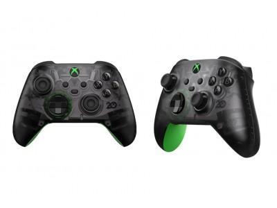 Только что просочился специальный беспроводной контроллер Xbox 20th Anniverary
