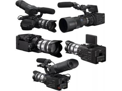 Sony NEX-FS100 – профессиональный камкордер со сменной оптикой