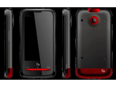 Обзор недорогого сенсорного телефона Fly E170 со встроенной камерой и большим дисплеем
