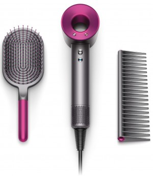 Фен Dyson Supersonic Fuchsia (HD01 Brush Kit)