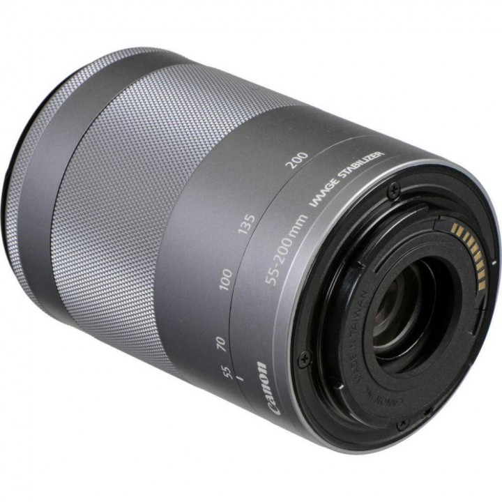Объектив Canon EF-M 55-200 mm 4.5-6.3 IS STM Silver (1122C005)
