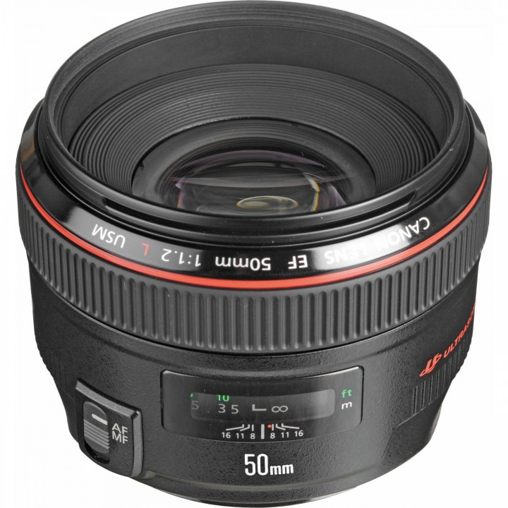 Объектив Canon EF 50 mm f/1.2L USM (1257B005)