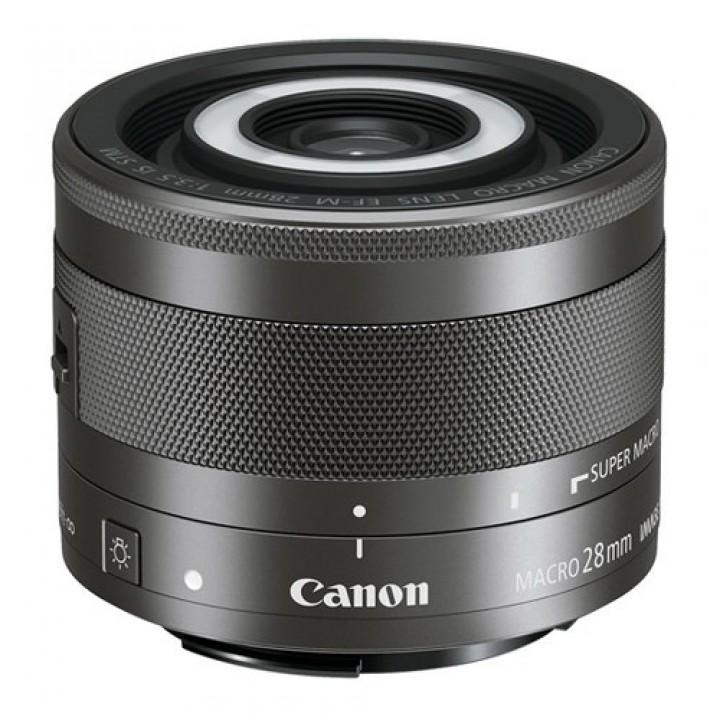 Объектив Canon EF-M 28 mm f/3.5 Macro IS STM (1362C005)