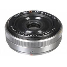 Объектив Fujifilm XF 27mm F2.8 Silver (16537689)