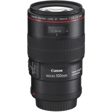 Объектив Canon EF 100 mm f/2.8L IS USM Macro (3554B005)