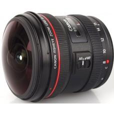 Объектив Canon EF 8-15 mm f/4.0L Fisheye USM (4427B005)