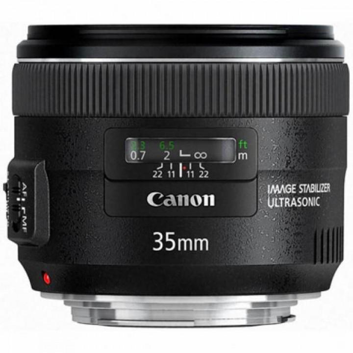 Объектив Canon EF 35 mm f/2.0 IS USM (5178B005)