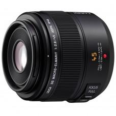 Объектив Panasonic Leica DG Macro-Elmarit 45 mm f/2.8 ASPH. MEGA O.I.S. (H-ES045E)