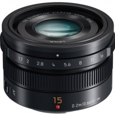 Объектив Panasonic Leica DG Summilux 15 mm f/1.7 ASPH. Black (H-X015E-K)