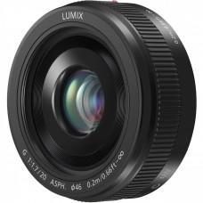 Объектив Panasonic Micro 4/3 Lens 20mm F1.7 ASPH Metal body Black (H-H020AE-K)