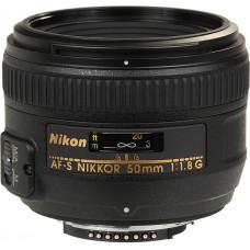 Объектив Nikon 50 mm f/1.8G AF-S Nikkor (JAA015DA)
