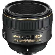 Объектив Nikon 58mm f/1.4G AF-S (JAA136DA)