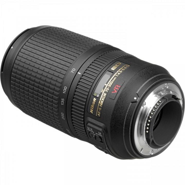 Объектив Nikon AF-P 70-300mm f/4.5-5.6E ED VR (JAA833DA)