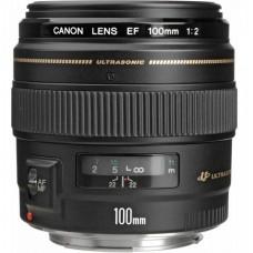 Объектив Canon EF 100 mm f/2.0 USM (2518A012)