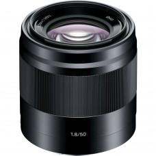 Объектив Sony 50mm f/1.8 Black для камер NEX (SEL50F18B.AE)