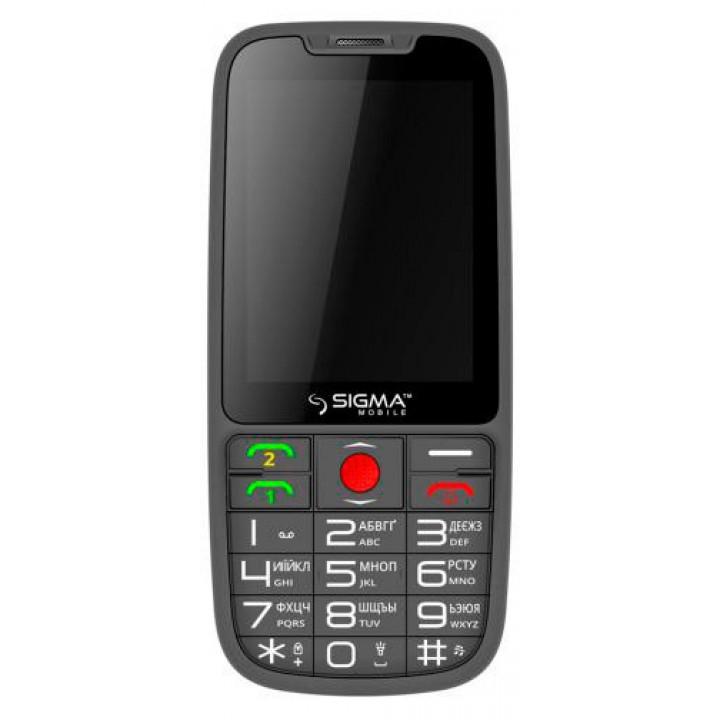 Мобильный телефон Sigma Comfort 50 Elegance Dual Sim (Grey)
