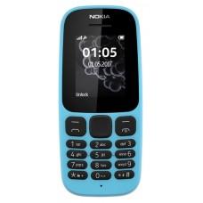 Nokia 105 SS 2017 Blue (A00028372)