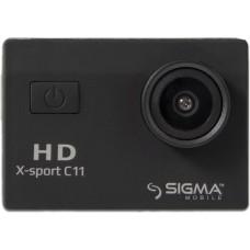 Экшн-камера Sigma Mobile X-Sport C11 (4827798324110) Black