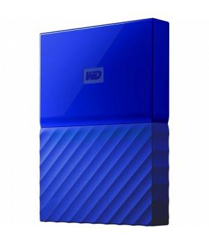 Жесткий диск Western Digital My Passport 1TB WDBYNN0010BBL-WESN 2.5 USB 3.0 External Blue