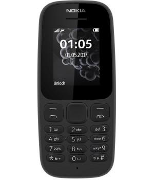 Nokia 105 Dual Sim 2017 Black (A00028315)