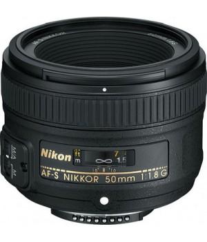 Объектив Nikon AF-S Nikkor 50mm f/1.8G (JAA015DA)