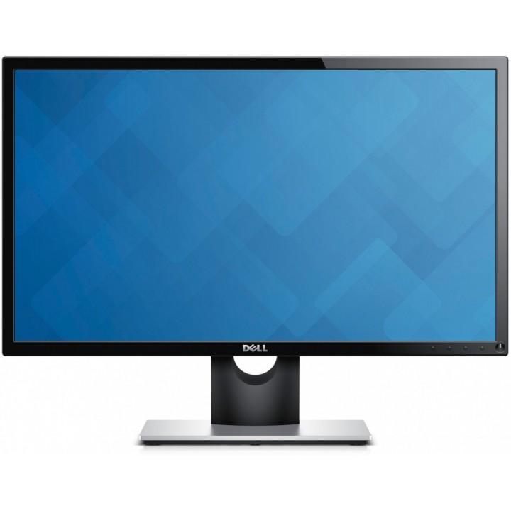 Монитор Dell SE2416H (210-AFZC) Silver-Black