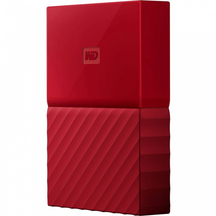 Жесткий диск Western Digital My Passport 1TB WDBYNN0010BRD-WESN 2.5 USB 3.0 External Red