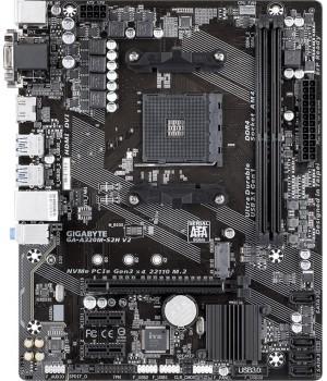 Материнская плата Gigabyte GA-A320M-S2H V2 (sAM4, AMD B350, PCI-Ex16)