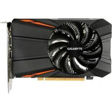 PCI-Ex GeForce GTX 1050 TI D5 4GB GDDR5  (1290/7008) (DVI, HDMI, DisplayPort) (GV-N105TD5-4GD)