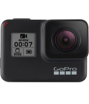 Видеокамера GoPro HERO 7 Black (CHDHX-701-RW) + Travel Kit (AKTTR-001) в подарок