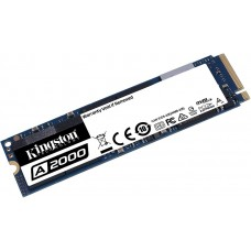 SSD накопитель Kingston A2000 500GB M.2 NVMe PCIe 3.0 4x 2280 (SA2000M8/500G)