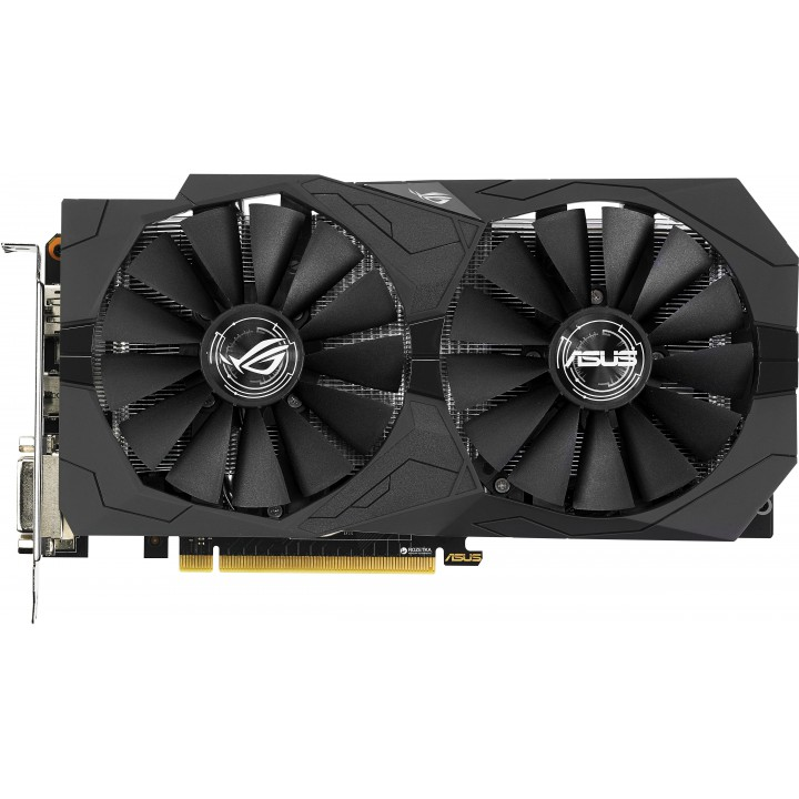 Видеокарта ASUS GeForce GTX 1050 TI 4GB DDR5 Gaming Strix (STRIX-GTX1050TI-4G-GAMIN)