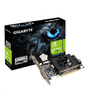 Видеокарта GIGABYTE GeForce GT 710 2GB DDRR5 64bit Low Profile (GV-N710D5-2GL)