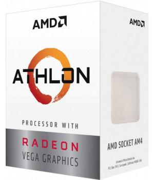 Процессор AMD Athlon 200GE AM4, 3.2GHz, 35W, Box (YD200GC6FBBOX)