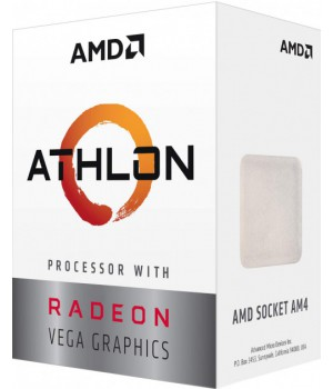Процессор AMD Athlon 200GE AM4, 3.2GHz, 35W, Box (YD200GC6FBBOX)