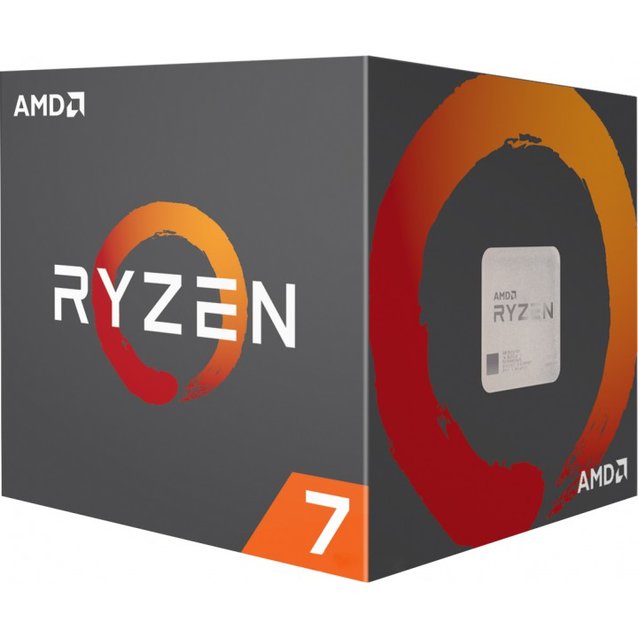 Процессор AMD Ryzen 7 2700 AM4, 3.2GHz, 65W, Box (YD2700BBAFBOX)
