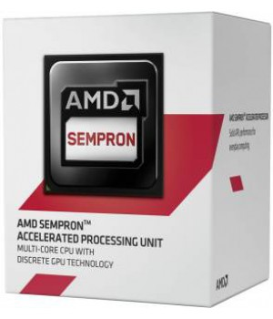 Процессор AMD Sempron 3850 AM1, 1.3GHz, 25W, Box (SD3850JAHMBOX)