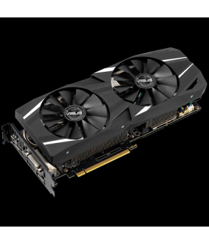 Видеокарта ASUS GeForce RTX2060 6GB, 192bit, DDR6 Dual Advanced Edition (DUAL-RTX2060-A6G)