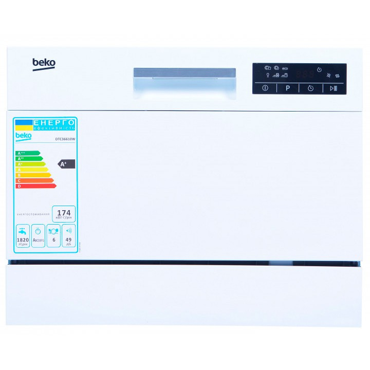 Посудомойка Beko DTC 36610 W