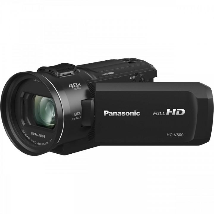 Цифровая Видеокамера Panasonic HC-V800 Black (HC-V800EE-K)