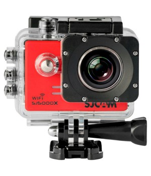 Экшн-камера Sjcam SJ5000X red