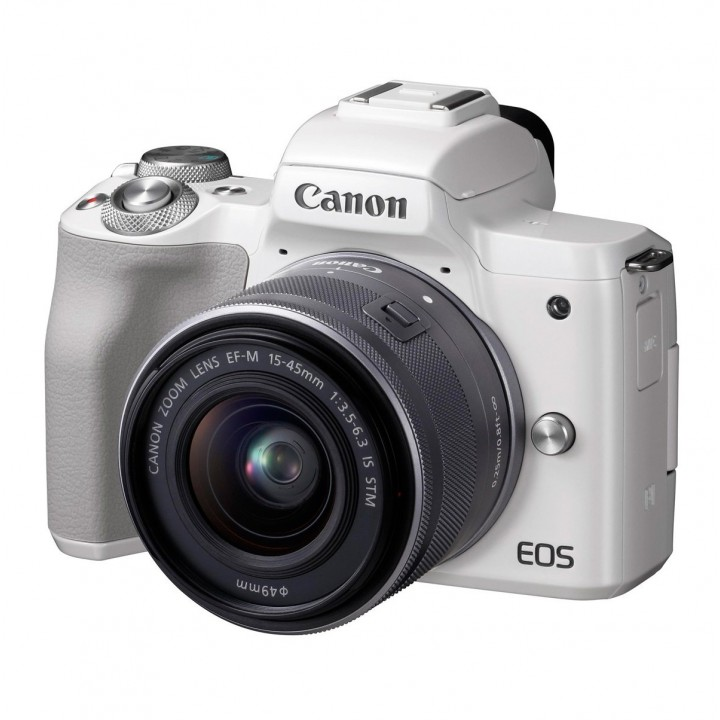 Фотоаппарат Canon EOS M50 Kit 15-45mm IS STM White