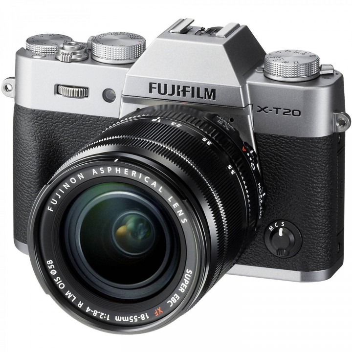 Фотоаппарат Fujifilm X-T20 + XF 18-55mm f/2.8-4R Kit Silver