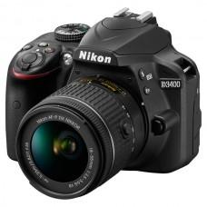 Фотоаппарат NIKON D3400 + AF-P 18-55 Non-VR KIT (VBA490K002)