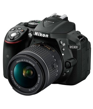 Фотоаппарат Nikon D5300 Kit AF-P 18-55mm VR Black
