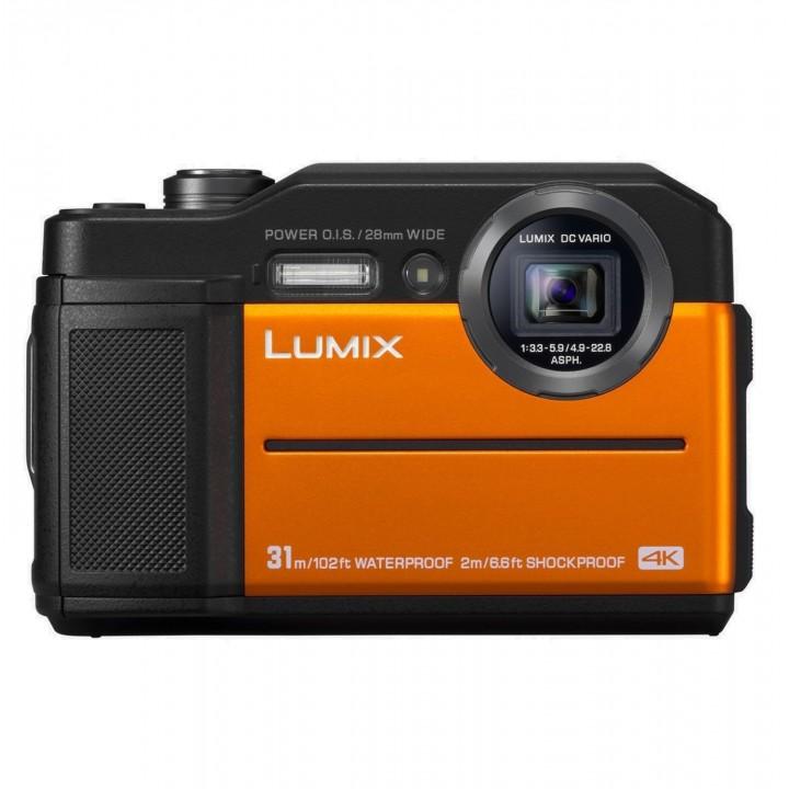 Фотоаппарат PANASONIC LUMIX DC-FT7EE-D Orange