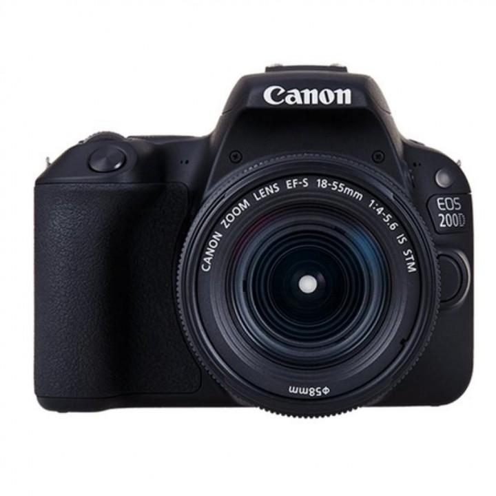 Фотоаппарат Canon EOS 200D Kit 18-55 DC III Black