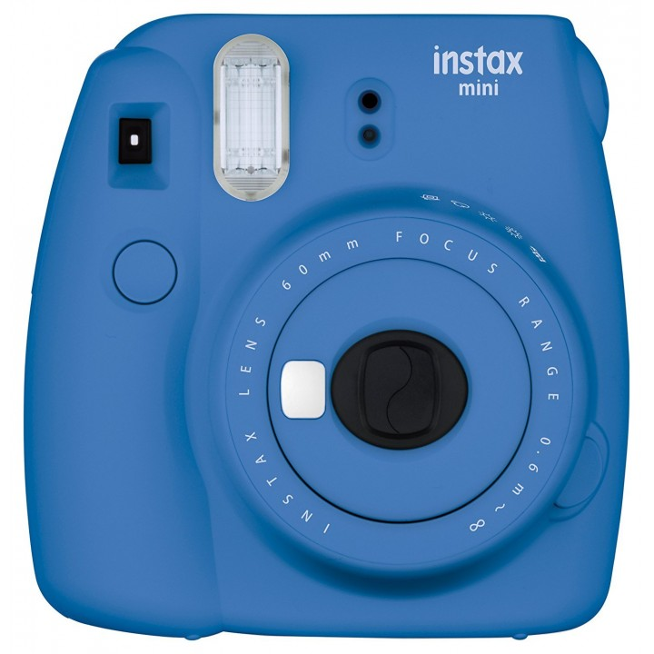 Фотоаппарат FUJI Instax Mini 9 CAMERA COB BLUE EX D N (Синий Кобальт)