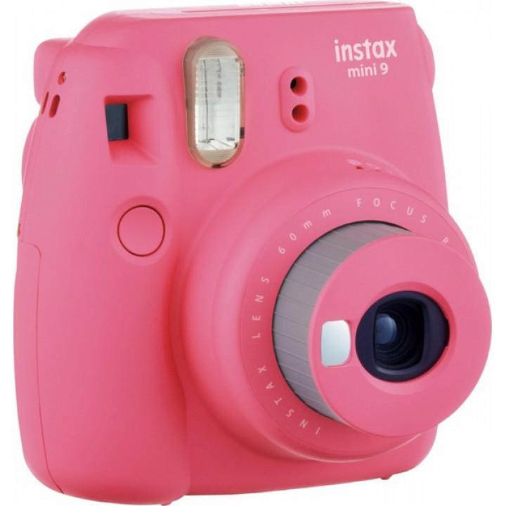 Фотоаппарат FUJI Instax Mini 9 CAMERA FLA PINK EX D N (Розовый Фламинго)